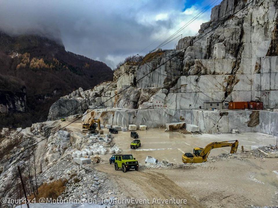Tour 4x4 Cave di Marmo Vagli