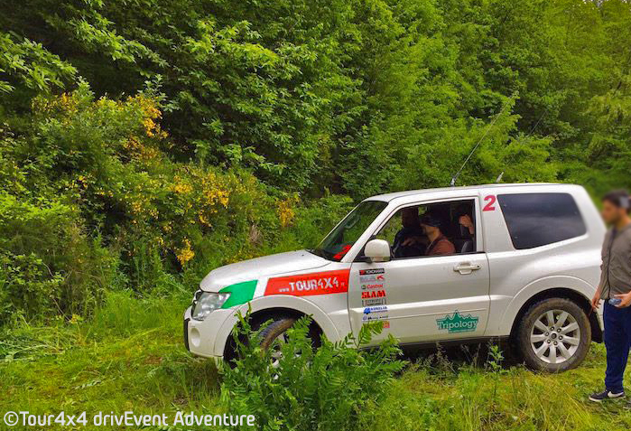 Guida Bendata 4x4 Incentive drivEvent Adventure Tour 4x4